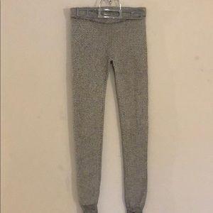Garage grey pattern leggings